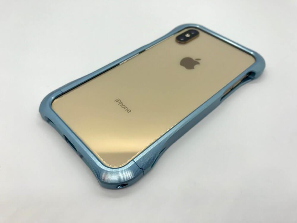 iPhone XS/X用バンパー「REAL EDGE」はジュラルミンが惜しげもなく使われている