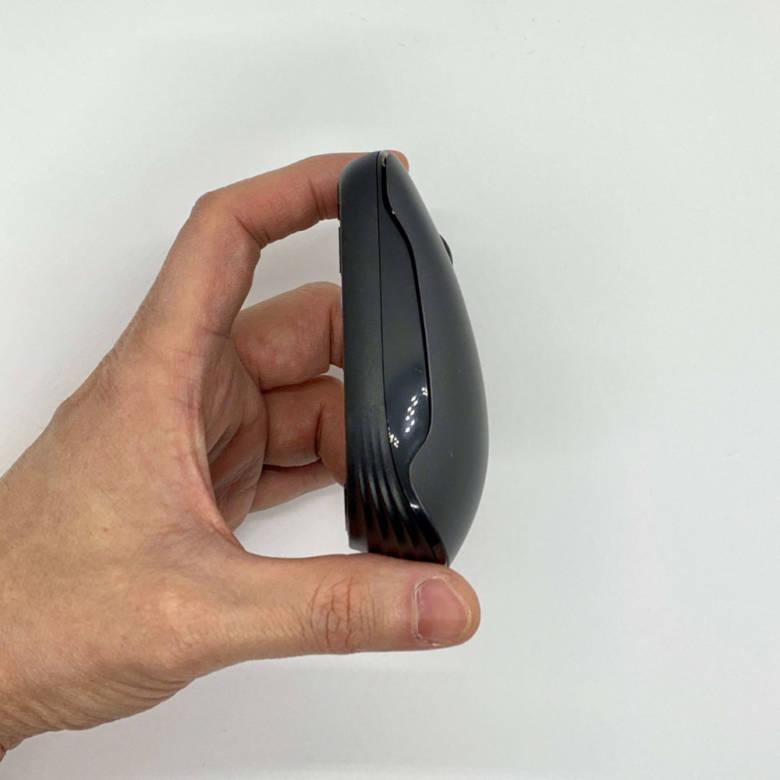 Longtop静音ワイヤレスマウスのサイズ