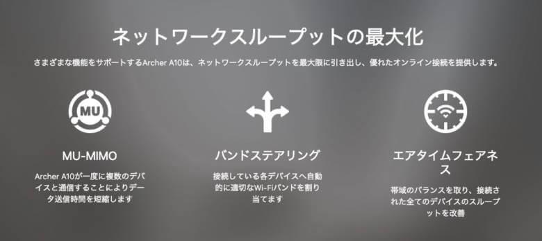 TP-Link エアタイムフェアネス