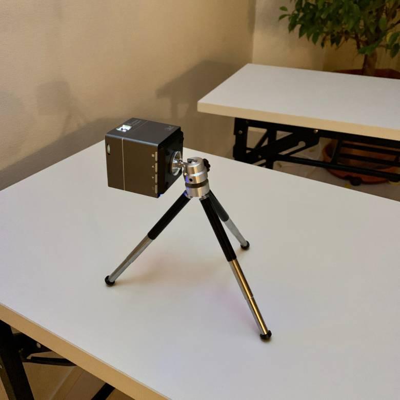Pico Cube Xは天井投影が可能