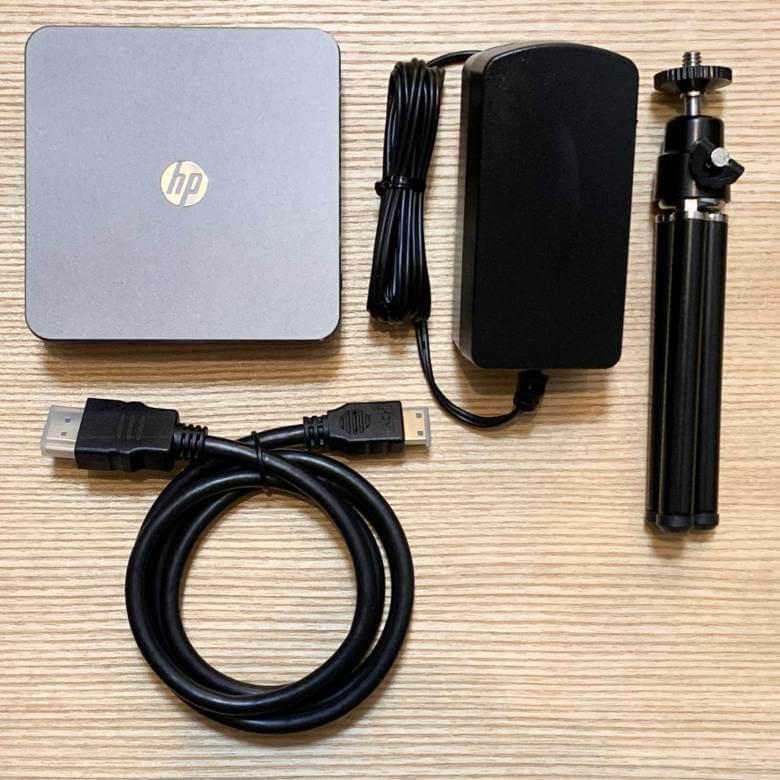 HP MP100・120の付属品