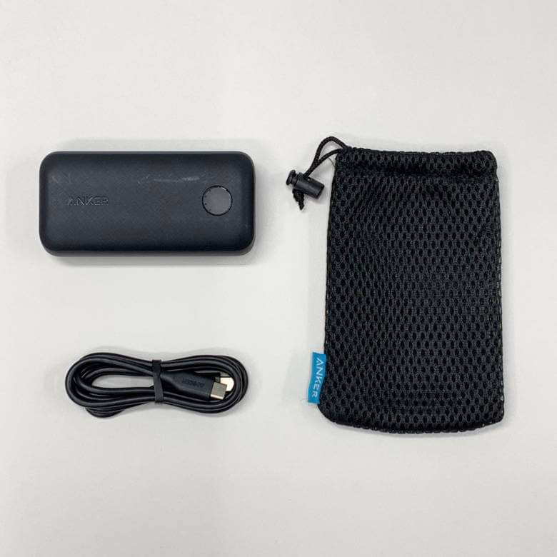 Anker PowerCore 10000 PD Reduxの付属品