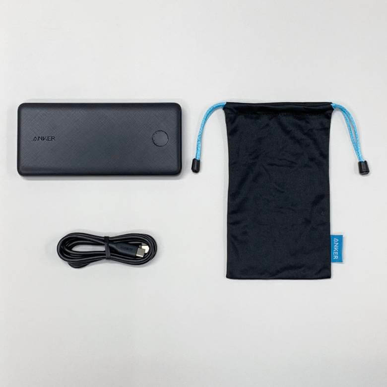 Anker PowerCore Slim 10000 PDの付属品