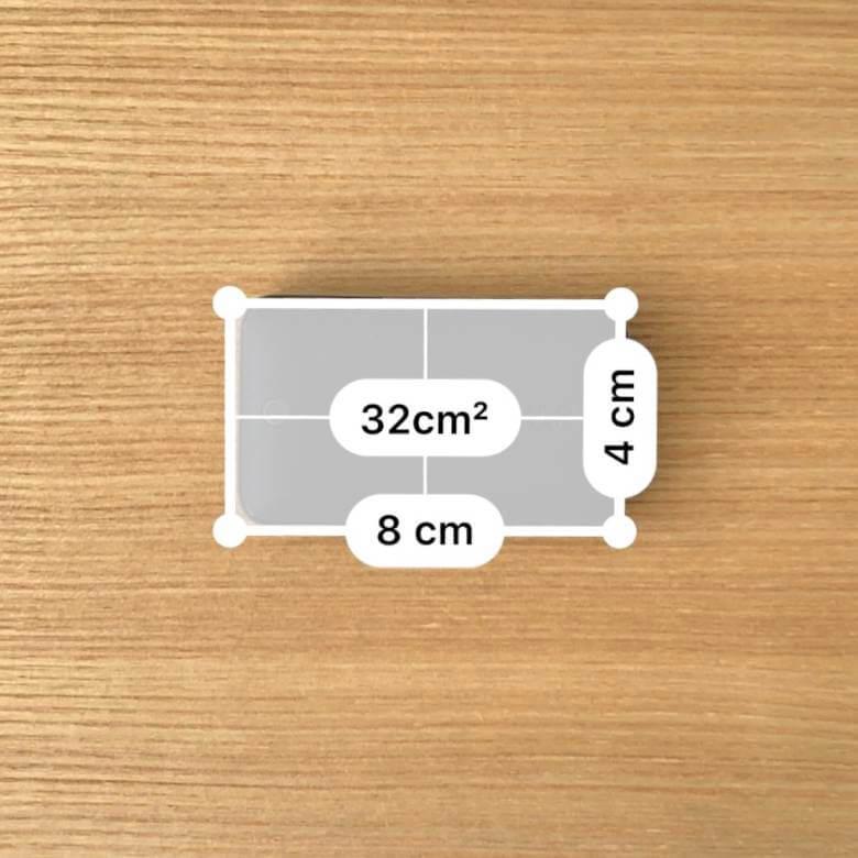 Anker PowerPort Atom III Slimのサイズ