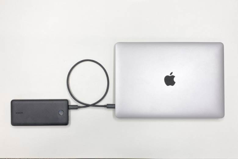Anker PowerCore Essential 20000 PDはMacBookも充電可能
