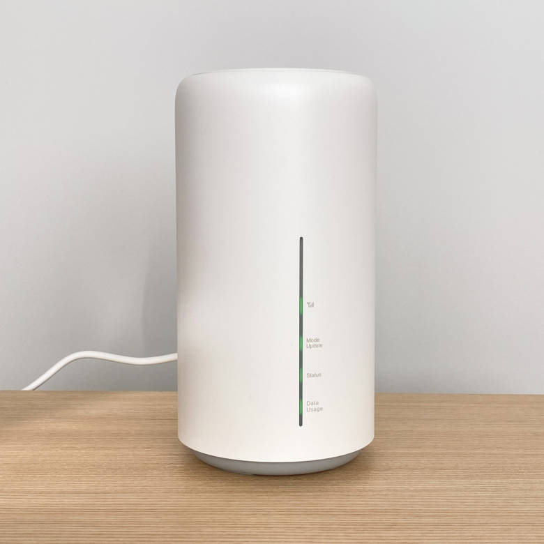 WiMAXホームルーターの端末はSpeed Wi-Fi HOME L02