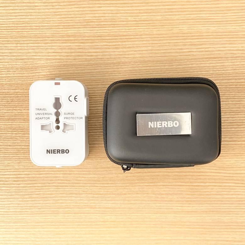 NEWFIRE海外変換プラグの付属品