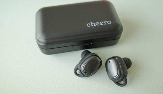 【cheero Wireless Earphones Bluetooth 5.1レビュー】apt-X/AAC対応かつモバイルバッテリー付きの完全ワイヤレスイヤホン【CHE-627】