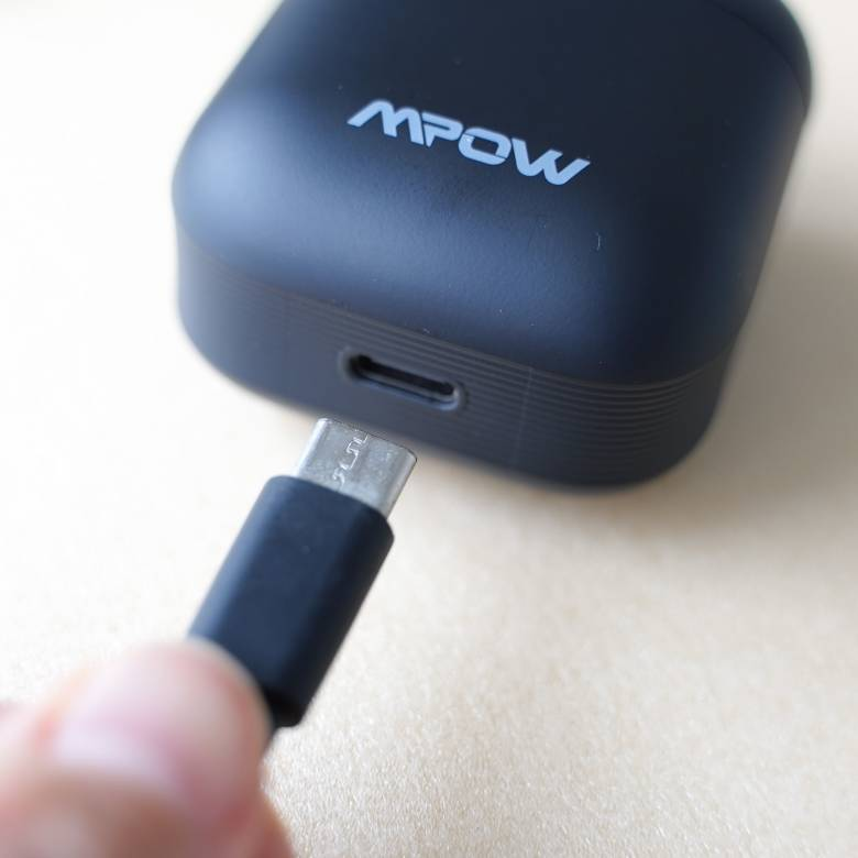 Mpow X3 ANCはUSBタイプC充電対応