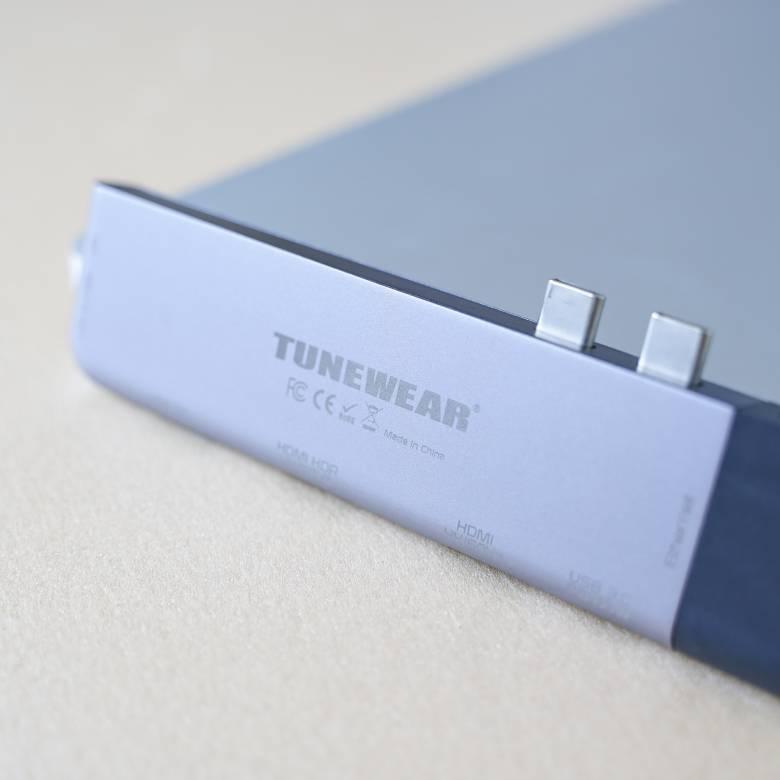 TUNEWEAR ALMIGHTY DOCK TB4の筐体はアルミニウム製