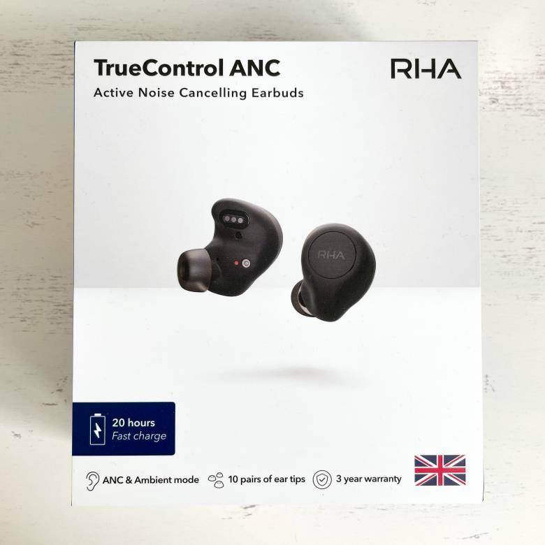 RHA TrueControl ANCの外箱